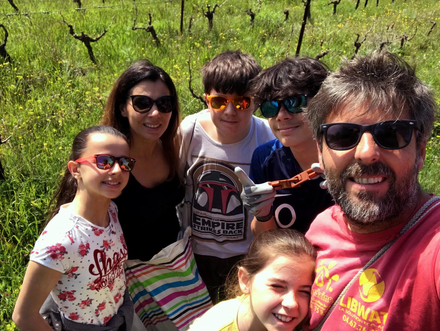 photo de la famille chamboredon