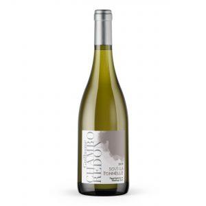 bouteille vin blanc sous la tonnelle